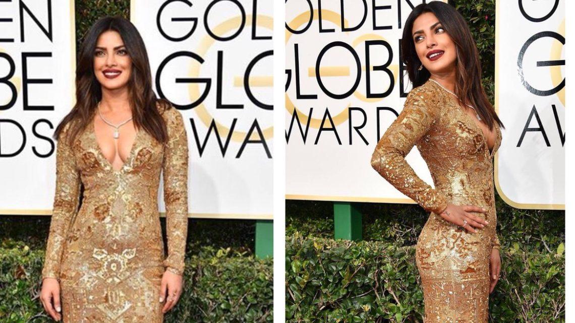Priyanka Chopra at the Golden Globes 2017