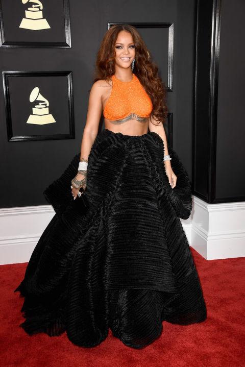 59th Grammy Awards: Rihanna