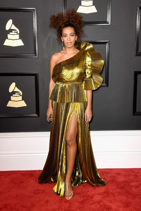 59th Grammy Awards: Solange Knowles