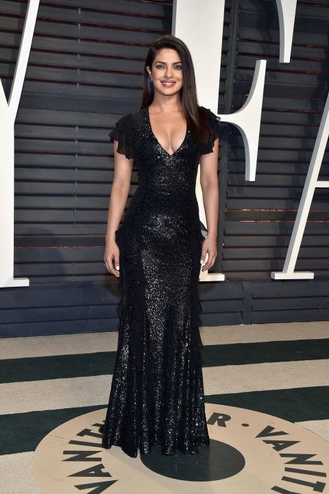 Priyanka Chopra at the Vanity Fair Oscars after party