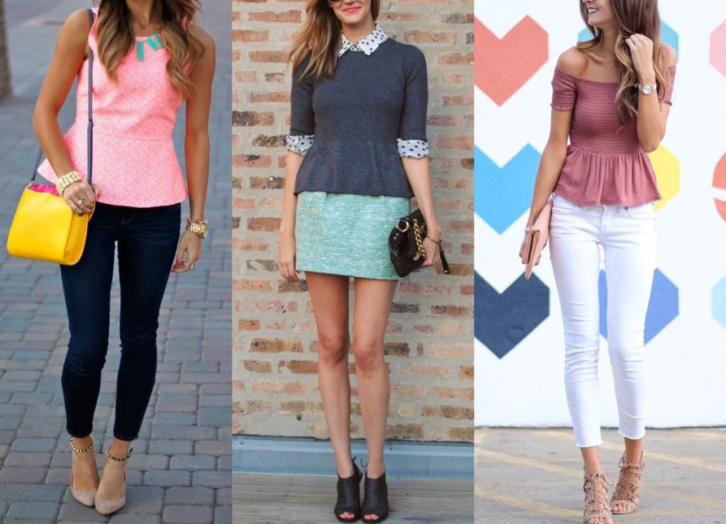 Fashion Trends - Peplum