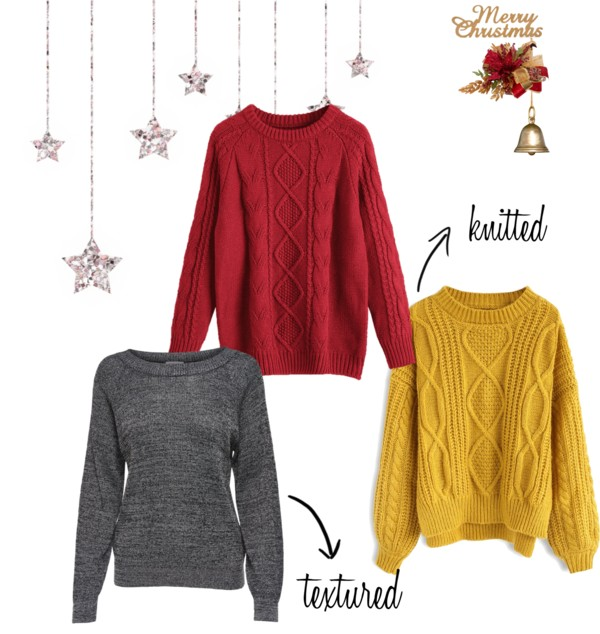 Christmas Time - Cosy Sweaters